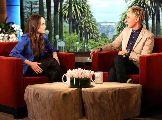 Ellen Page, Ellen DeGeneres