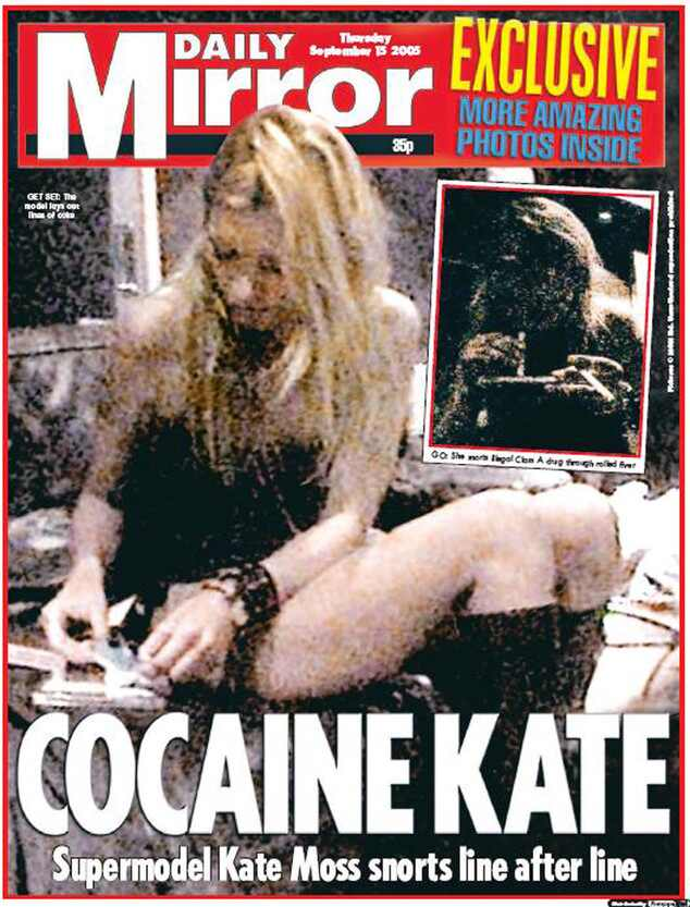 Kate Moss, Kate Moss Daily Mirror