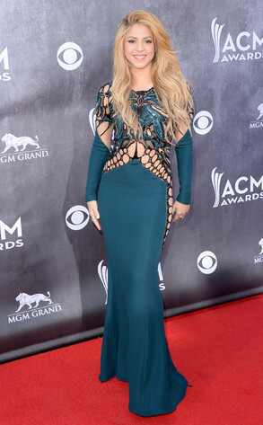 Shakira, ACM Awards 2014