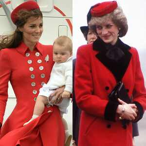 Duchess Catherine, Prince George, Kate Middleton, Princess Diana