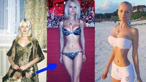 Barbie humana Valeria Lukyanova fotos antes depois
