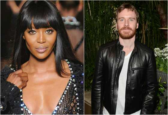 Michael Fassbender, Naomi Campbell