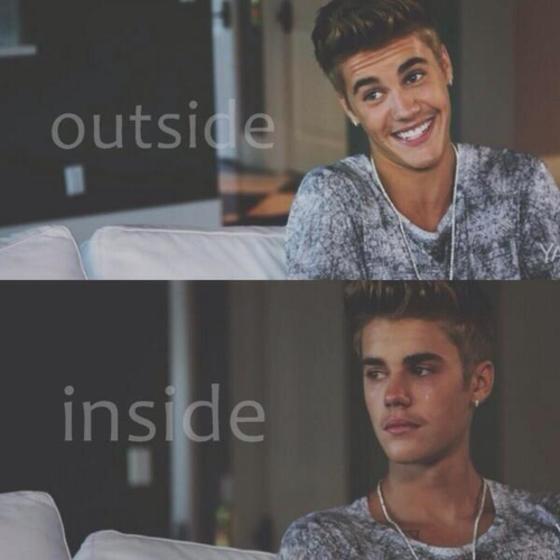 Justin Bieber chorando triste GIF