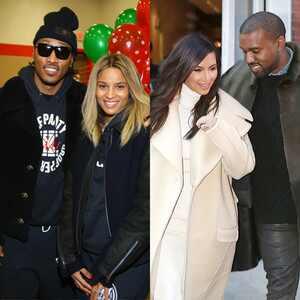 Future, Ciara, Kim Kardashian, Kanye West