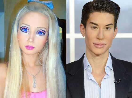 Valeria Lukyanova, Barbie, Justin Jedlica, Ken Doll