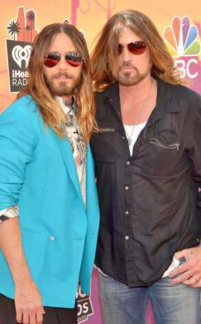 Jared Leto, Billy Ray Cyrus, iHeartRadio Music Awards