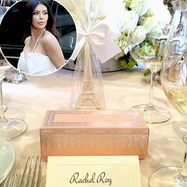 Kim Kardashian, Wedding Shower