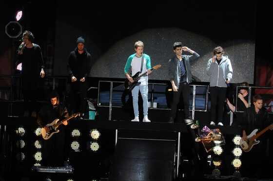 One Direction faz show em São Paulo e bate recorde de público