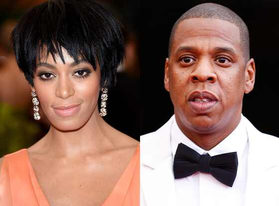 Jay-Z, Solange, MET Gala