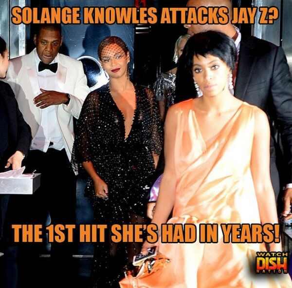 Memes briga irmã Beyonce e Jay Z