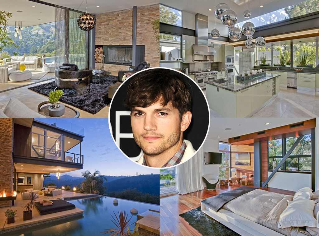 Ashton Kutcher Lists Bachelor Pad For 12 Million As He