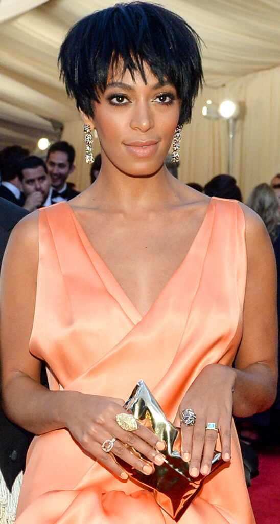 Solange Knowles, MET Gala, Clutch
