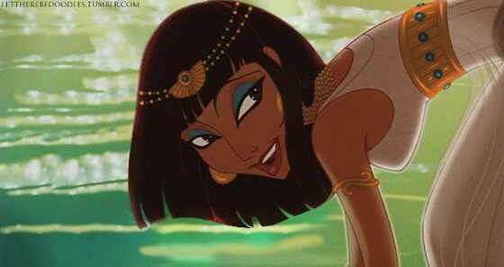 Princesas da Disney com etnias trocadas