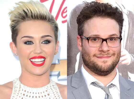 Miley Cyrus, Seth Rogan