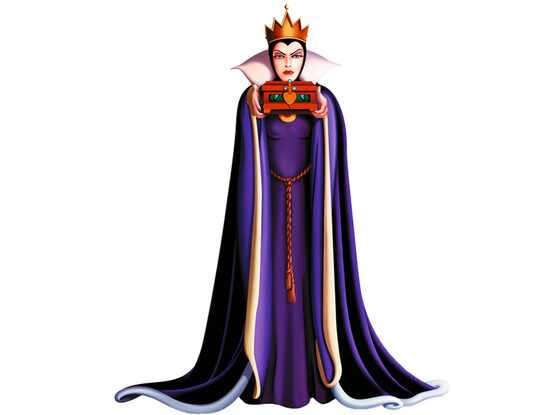 Disney Villains, Queen Grimhilde, Snow White and the Seven Dwarfs