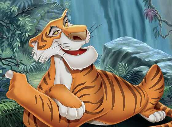 Disney Villains, Shere Khan, The Jungle Book
