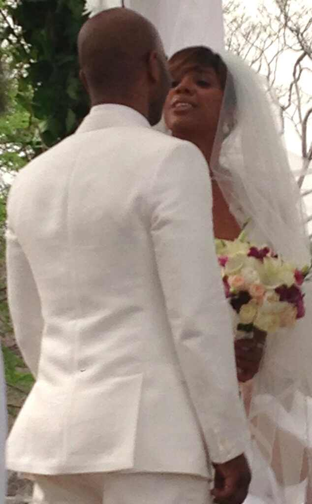 Kelly Rowland, Tim Witherspoon, Wedding