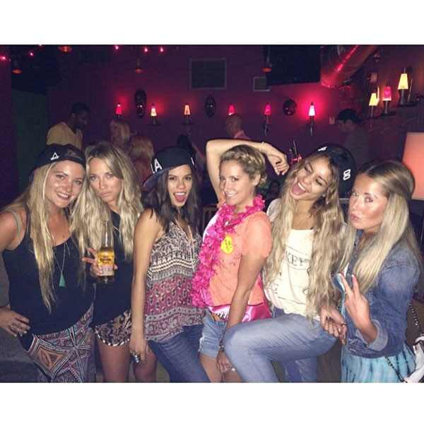 Ashley Tisdale, Bachelorette Party, Instagram