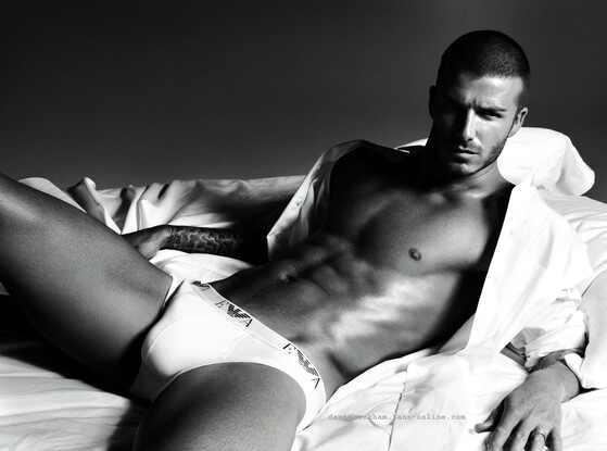 David Beckham, Armani