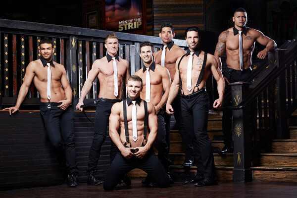 Men of the Strip, Set Photos