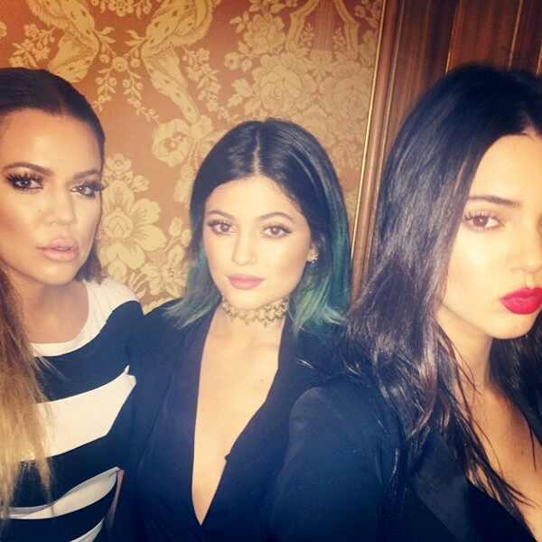 Khloe Kardashian, Kylie Jenner, Kendall Jenner, Instagram