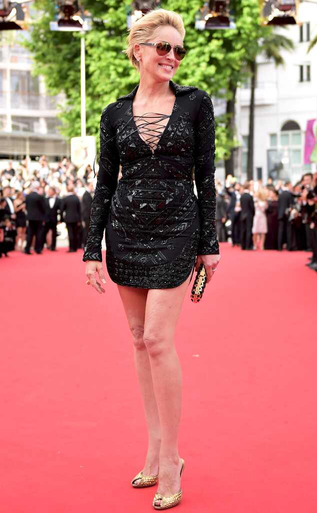 Sharon Stone, Cannes