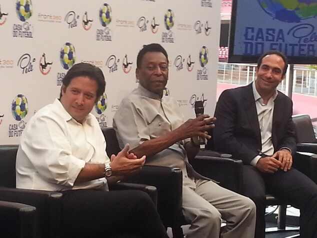 Pelé fala sobre Neymar