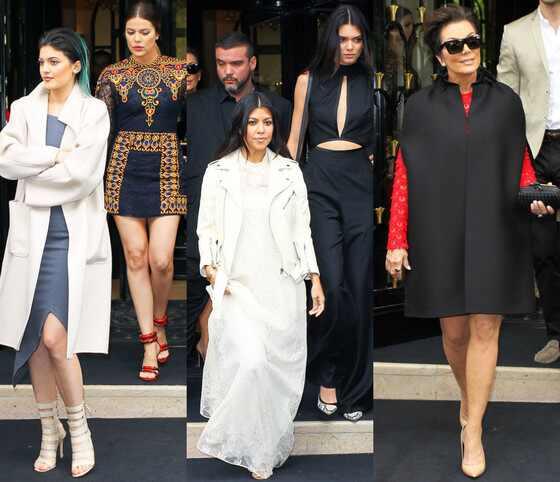 Kim e Kanye em brunch de Valentino