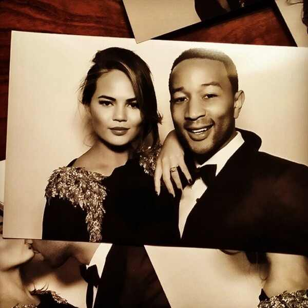 John Legend, Chrissy Tiegen, Kardashian Wedding, Instagram