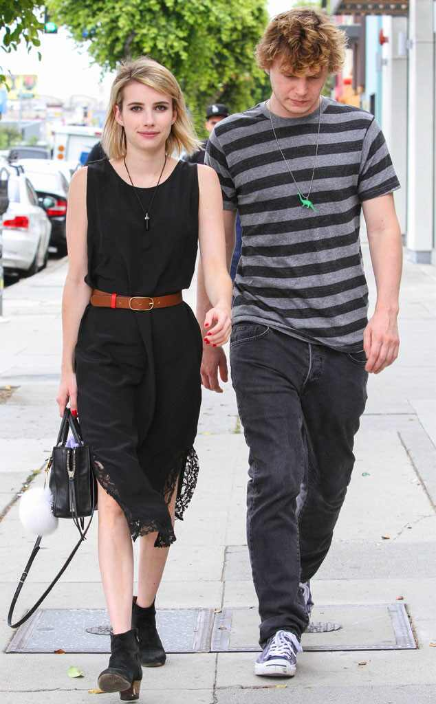 Evan Peters And Emma Roberts Emma Roberts & ...