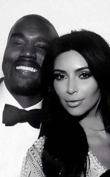 Kim Kardashian e Kanye West casamento instagram
