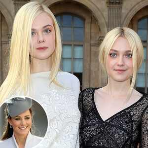 Elle Fanning, Dakota Fanning, Kate Middleton