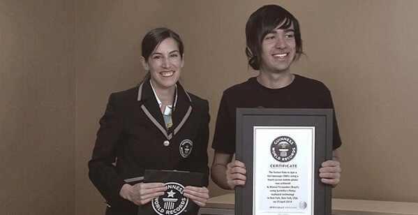 Marcel Fernandez, Records Guinness