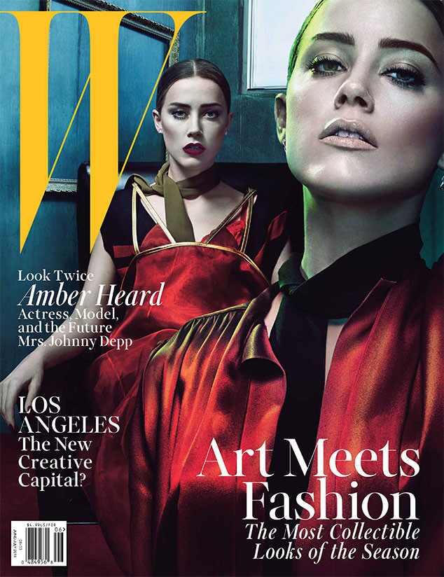 Amber Heard, W Magazine