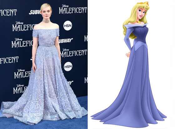 Elle Fanning, Sleeping Beauty, Princess Aurora