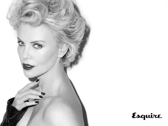 Charlize Theron, July Esquire 2014