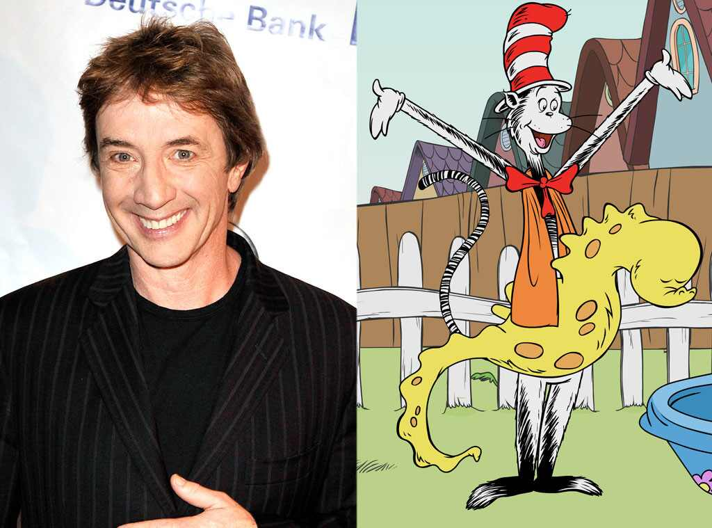 Is Martin Short The Voice Of Cat In The Hat