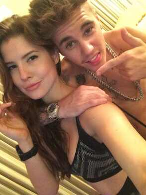 Justin Bieber, Amanda Cerny