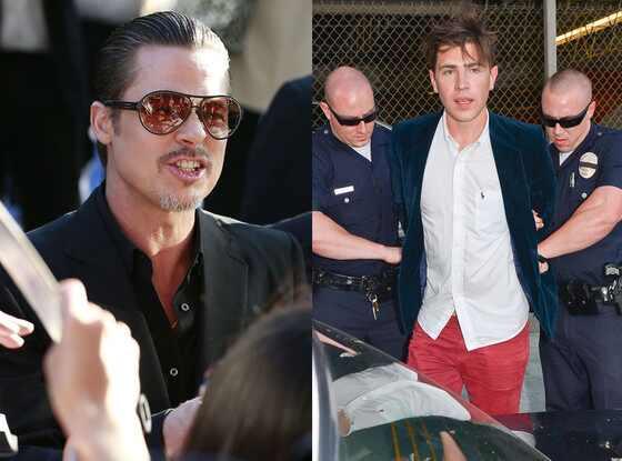 Brad Pitt, Vitalii Sediuk