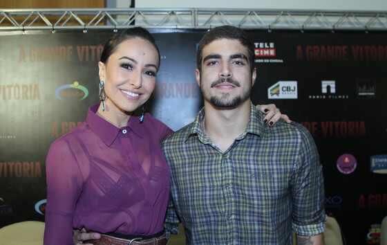 Sabrina Sato Caio Castro filme A Grande Vitoria