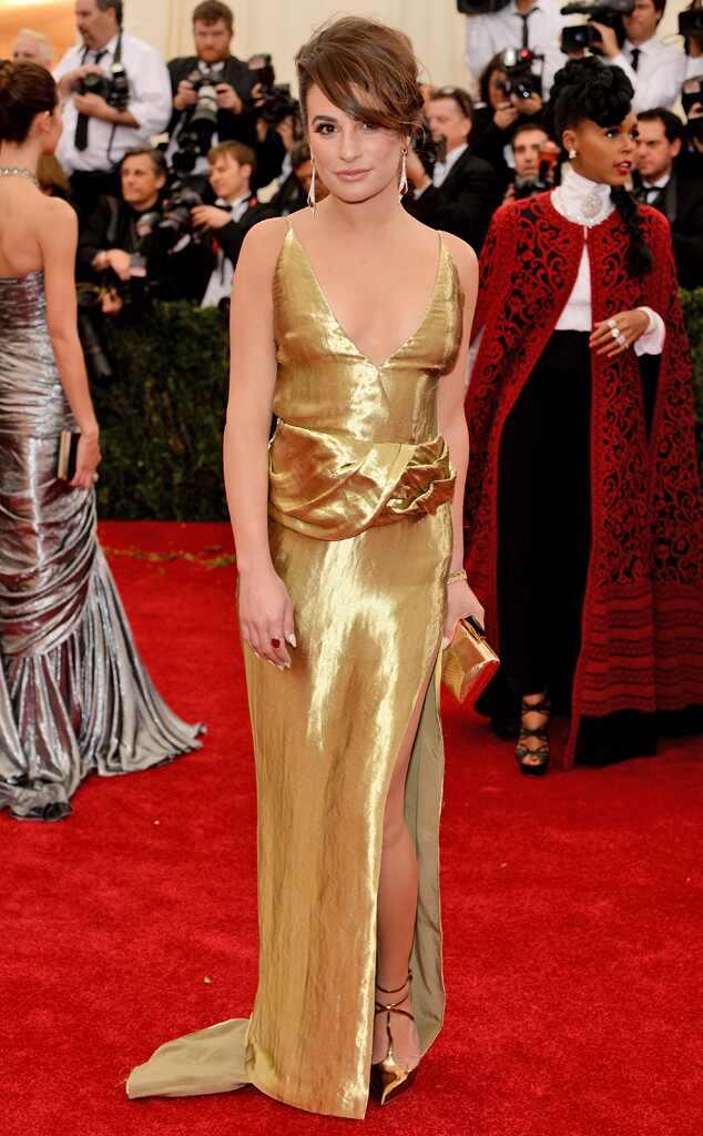 Lea Michele, MET Gala