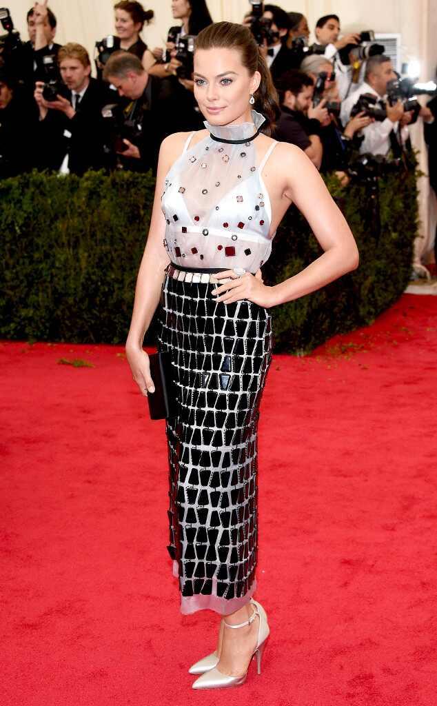 Margot Robbie Muse, MET Gala
