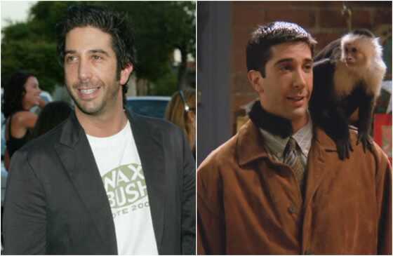 Friends antes e depois