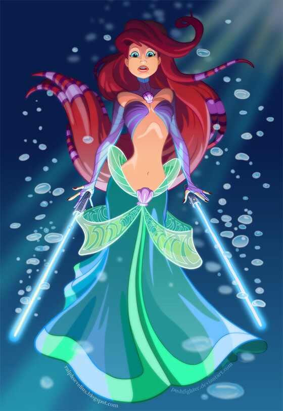 Princesas Disney Star Wars