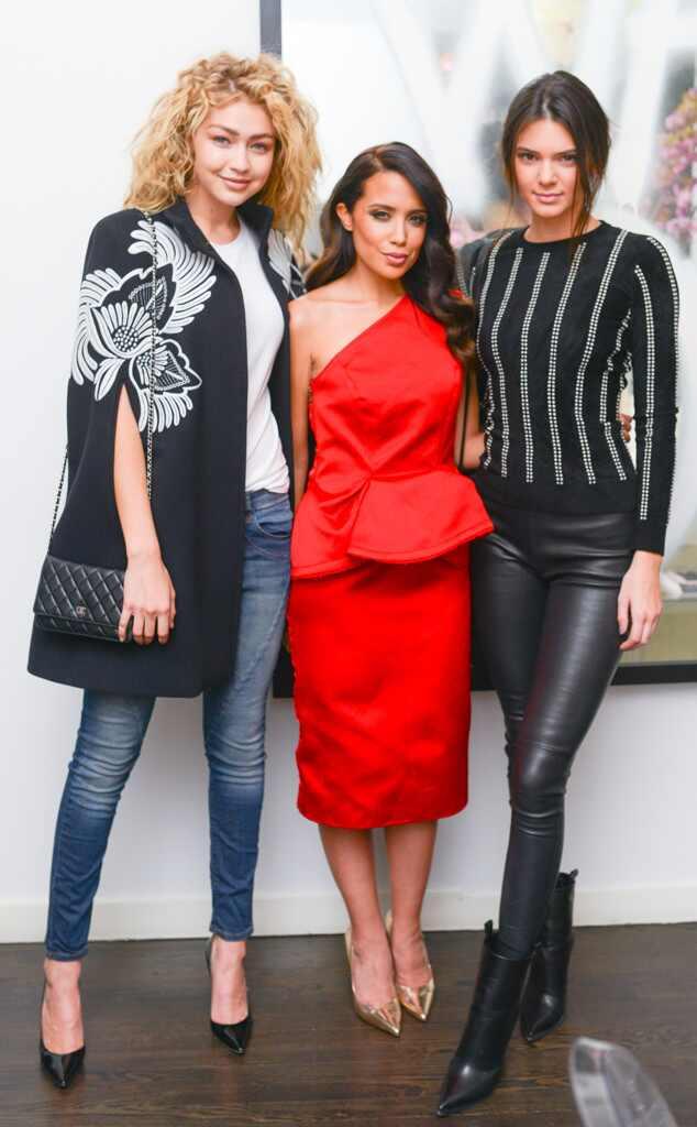 Gigi Hadid, Mirtha Michelle, Kendall Jenner