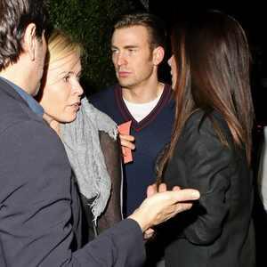Sandra Bullock, Chris Evans, Chelsea Handler