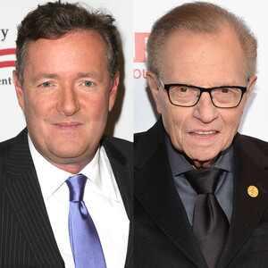 Larry King, Piers Morgan