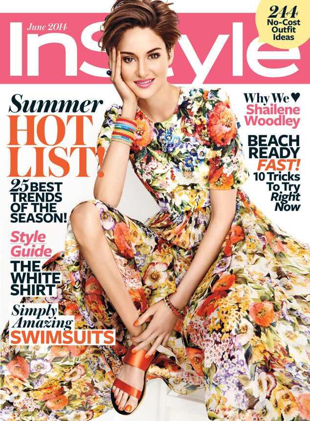Shailene Woodley, InStyle Magazine