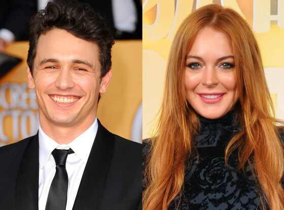 James Franco, Lindsay Lohan