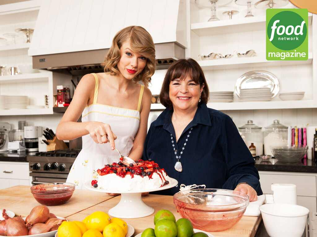 taylor swift ina garten food network magazine - Cooking Contessa